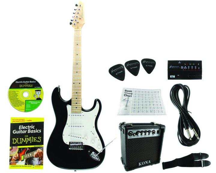 electric guitar pack for dummies. Black Bedroom Furniture Sets. Home Design Ideas