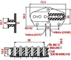 advantage whole standard telecaster® rear pickup standard telecaster® rear pickup wiring schematic