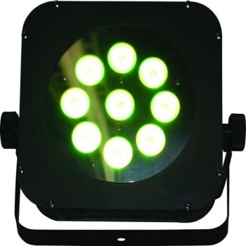 The Puck 3NX 9x3-Watt TriColor LED Flat Par Can (BL-PUCK3NX)