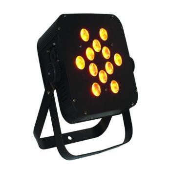 The Puck Q12A Quad-Color LED Flat Par Can (BL-Q12APUCK)
