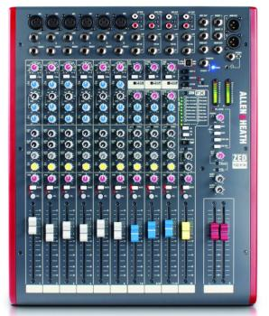 ZED 12 Channel Mixer With Built In Effects (LL-ZED-12FX)