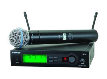 SLX Wireless Microphone System (BETA58) (SU-SLX24-BETA58)