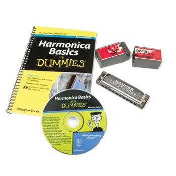 Hohner Harmonica Pack For Dummies (FO-HFDPK)