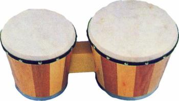 Non-Tunable Wood Bongos (XX-PBN)