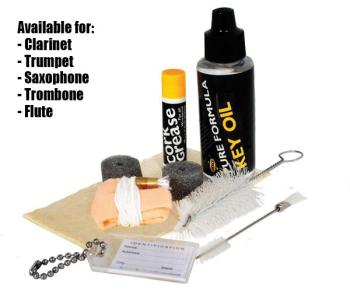 Band Instrument Maintenance Kit (HR-HE-MK)
