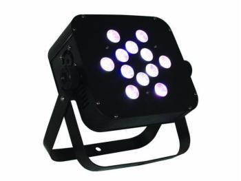 The Puck Q12W Quad-Color LED Flat Par Can (BL-Q12WPUCK)