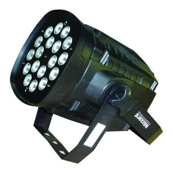 COLORStorm PAR 18x10-Watt RGBW LED High Power Par Can (BL-COLORSTORMPARQ)