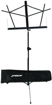 Compact Music Stand with Bag (Black) (ST-MS2BKB)