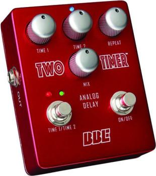 Two-Timer Dual-Channel Analog Delay Pedal (BB-TT-2)