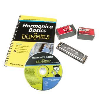 Hohner Harmonica Pack For Dummies (FO-HFDPK)