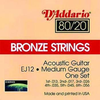 80/20 Bronze Acoustic Strings (DA-A-80/20B)