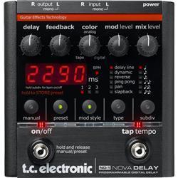 ND-1 Nova Delay Guitar Effects Pedal (TL-NOVA-DL)