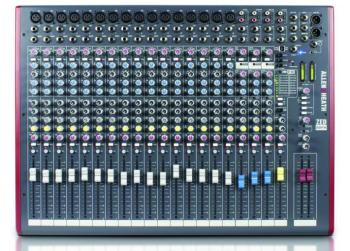 ZED 20 Channel Mixer With Built In Effects (LL-ZED-22FX)