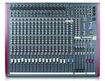 ZED 18 Channel, 4 Bus Mixing Console (LL-ZED-420)