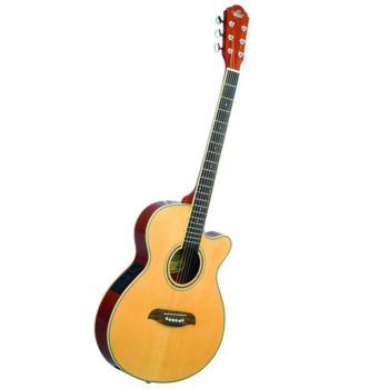 Thin Body A/E Guitar - Natural (OS-OG8CEN)